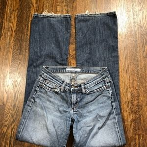 Joe's Jeans Size 27 Socialite Bootcut Medium Wash